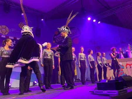 Optreden in de tent in Son & Breugel