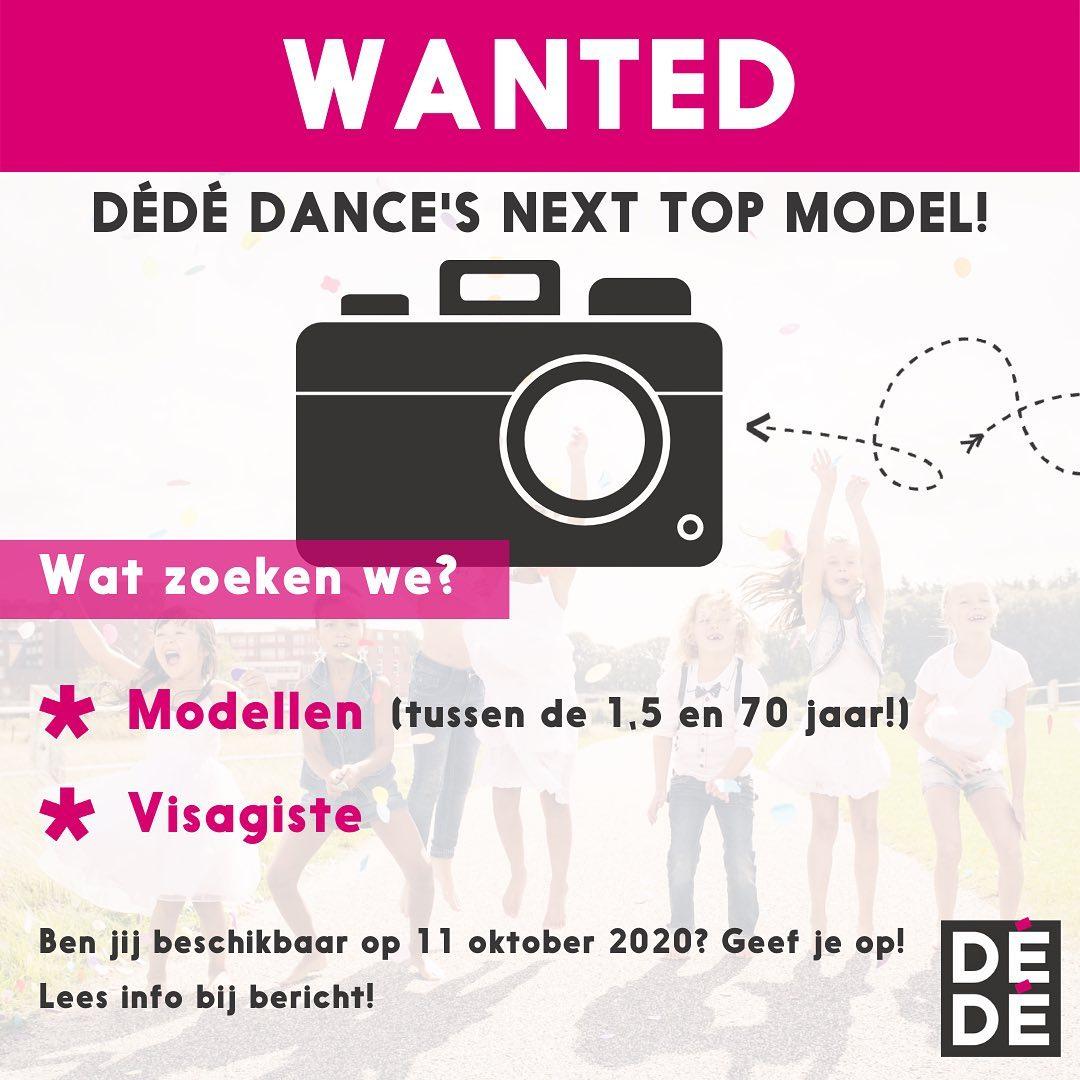 DéDé Dance's next top model!